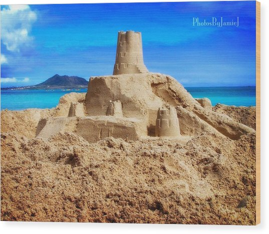 Pacific Moat Wood Print