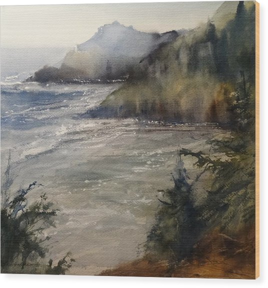 Pacific Northwest Wood Print