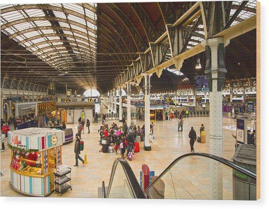 Paddington Station  Wood Print