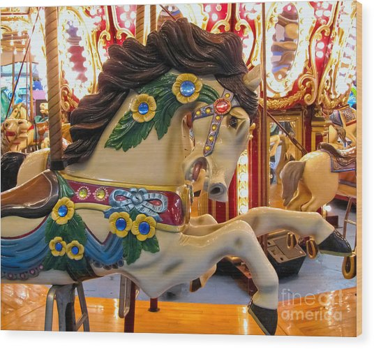 Painted Pony - Roam Wood Print