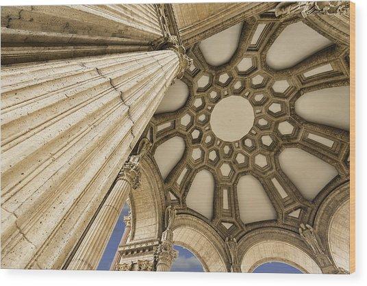 Palace Of Fine Arts Wood Print