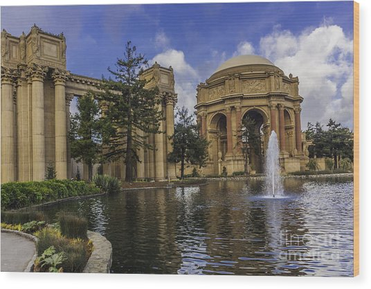 Palace Of Fine Arts San Francisco Wood Print