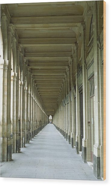 Palais Royale Wood Print