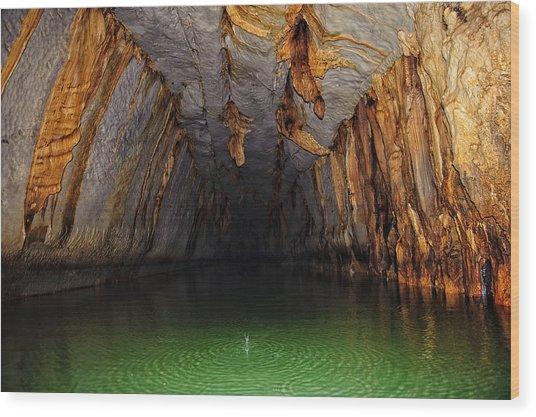 Palawan Underground River Wood Print by Paul W Sharpe Aka Wizard of Wonders
