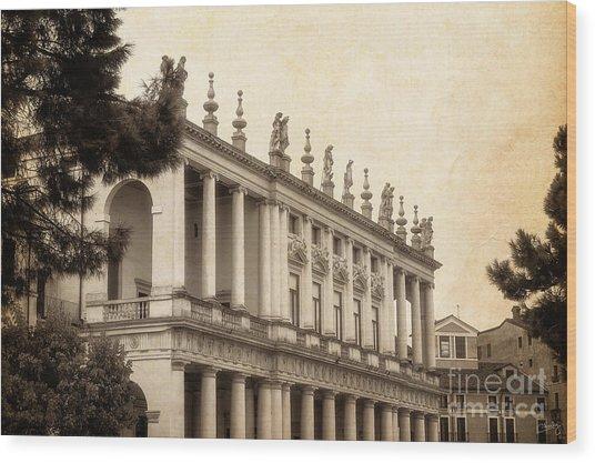 Palazzo Chiericati Wood Print