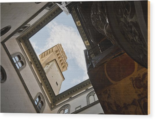 Palazzo Vecchio Wood Print