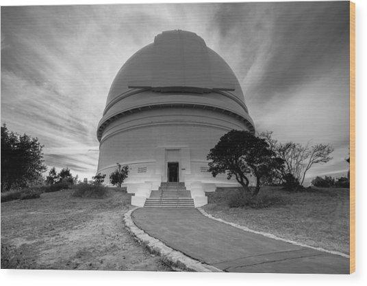 Palomar Observatory Wood Print