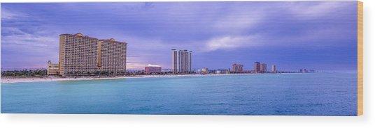 Panama City Beach Wood Print