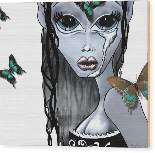 Pandora  Wood Print
