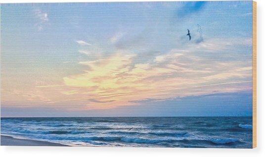 Paraclete At Sunrise  Wood Print