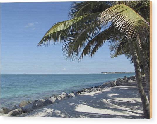 Paradise - Key West Florida Wood Print