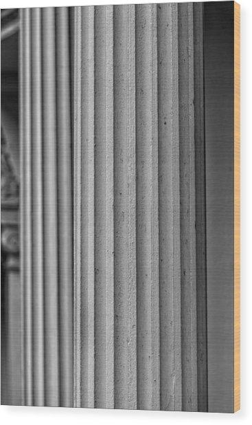 Parallelism Wood Print by Robert Ullmann
