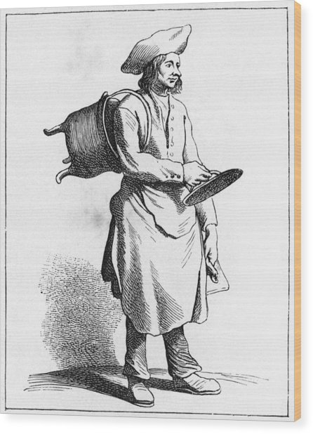 Paris Boilermaker, C1740 Wood Print