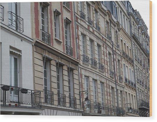 Paris France - Street Scenes - 011357 Wood Print by DC Photographer