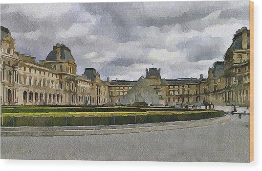 Paris Louvre 5 Wood Print by Yury Malkov
