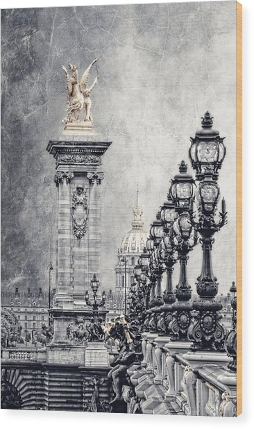 Paris Pompous 2 Wood Print