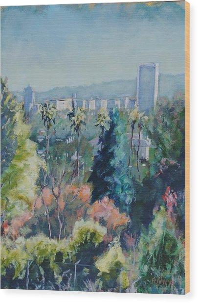 Park La Brea Wood Print