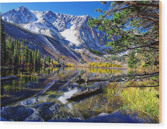 Parker Lake California Wood Print
