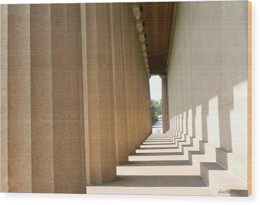 Parthenon1 Nashville Tn Wood Print