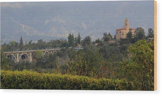 Pasadena Wood Print