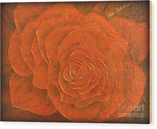Passion II Wood Print