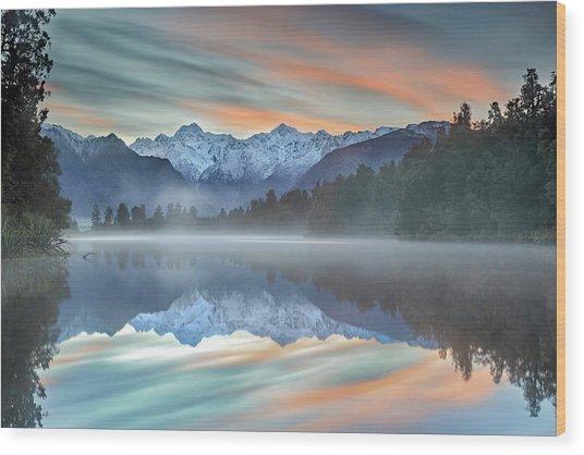 Pastel Hues Wood Print