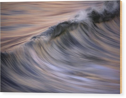 Pastel Wave  Mg2081 Wood Print