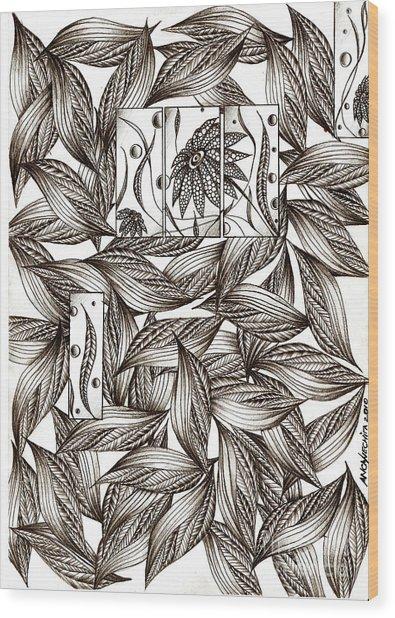 Path Wood Print by Anca S