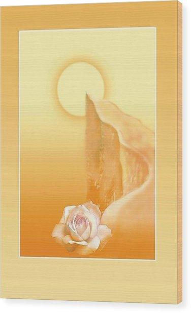 Path Of Integral Yoga  Wood Print by Shiva Vangara
