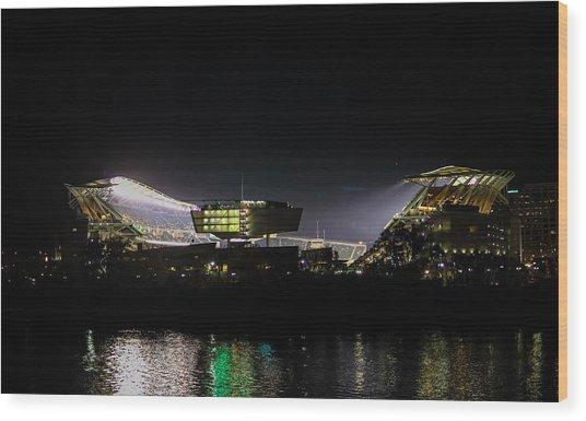 Paul Brown Stadium Wood Print