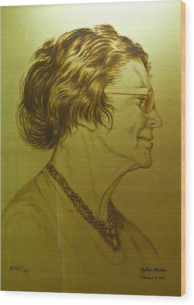 Paula Ben-gurion Wood Print