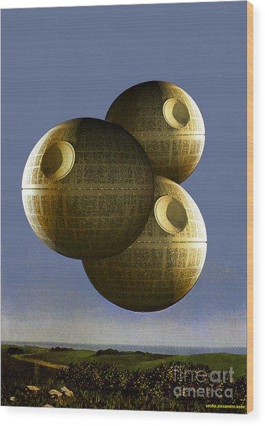 Pawn Wood Print