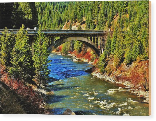 Payette River Scenic Byway Wood Print