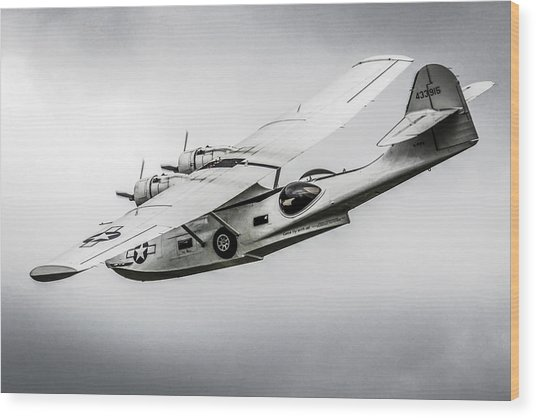Pby-5a Sub Hunter Wood Print