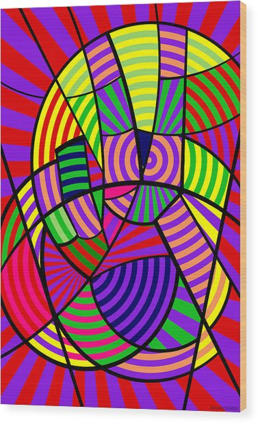 Peace 12 Of 12 Wood Print