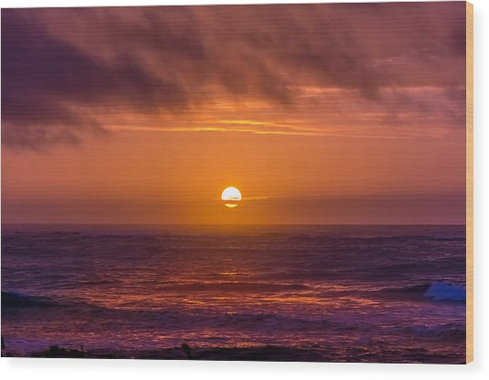 Peaceful Morning Wood Print