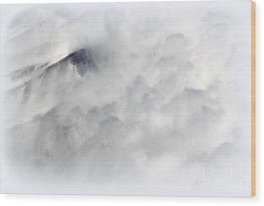 Peak A Boo Wood Print