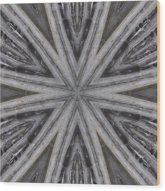 Pemaquid Rock Five Wood Print