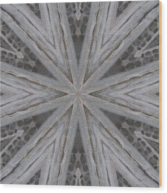 Pemaquid Rock Four Wood Print