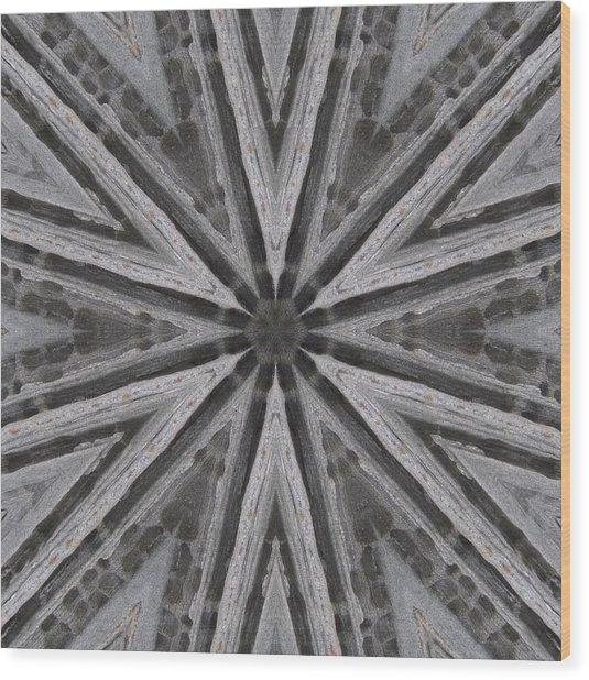Pemaquid Rock One Wood Print