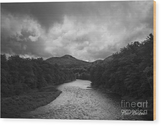 Pemigewasset River Nh Wood Print