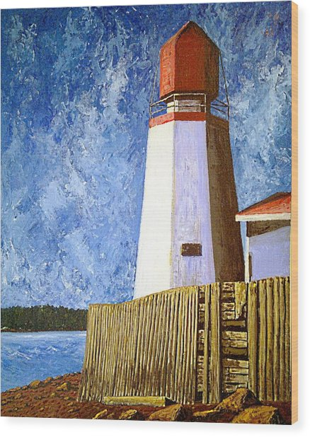 Pendlebury Lighthouse Wood Print
