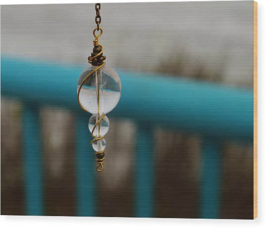 Pendulum Wood Print by Tara Miller