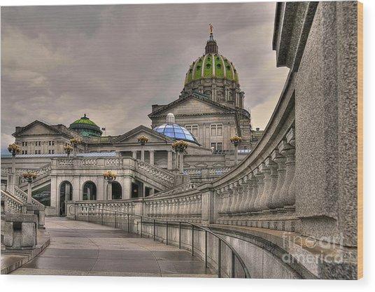 Pennsylvania State Capital Wood Print