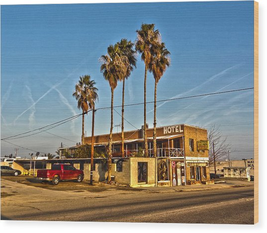 Penny Bar Mckittrick California Wood Print