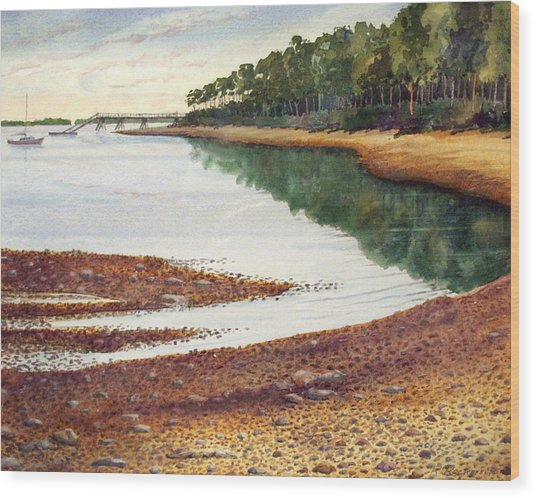 Penobscot Bay Wood Print