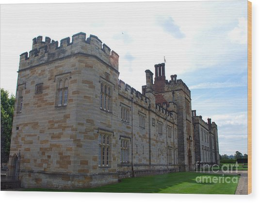 Penshurst Place Wood Print