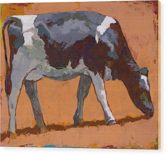 People Like Cows #4 Wood Print
