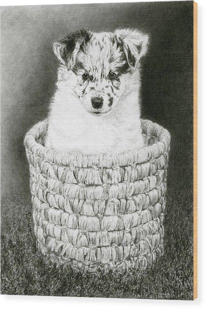 Pepper Wood Print