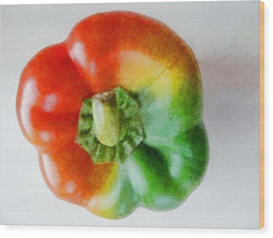 Peppery Allsorts  Wood Print